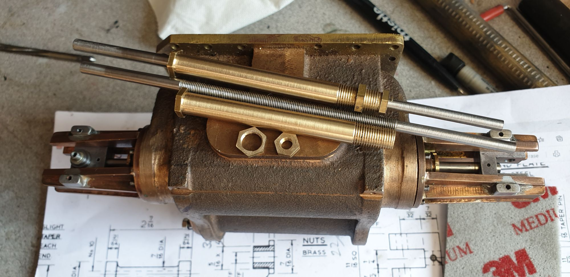 Spindles and valves part 1