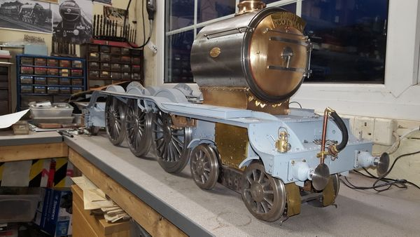 Smokebox-Saddle-Chimney and petticoat